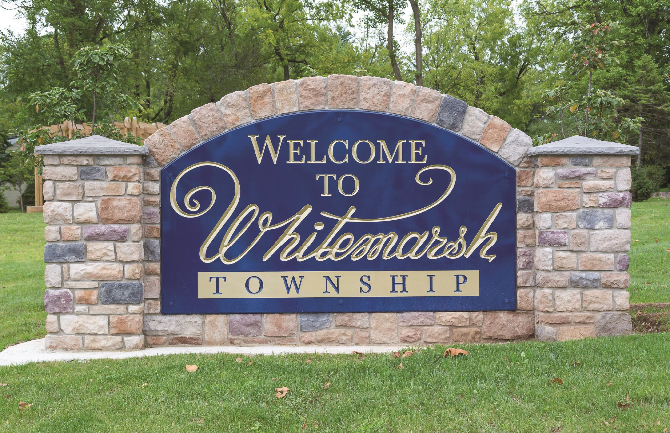Whitemarsh Township Sign
