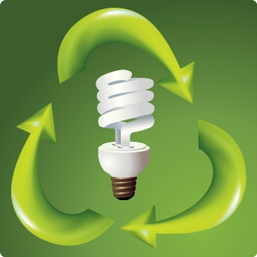 Recycle Compact Fluorescent Lamp Bulbs