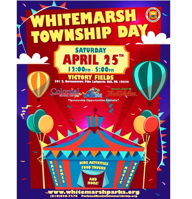 2020 Whitemarsh Township Day Flyer