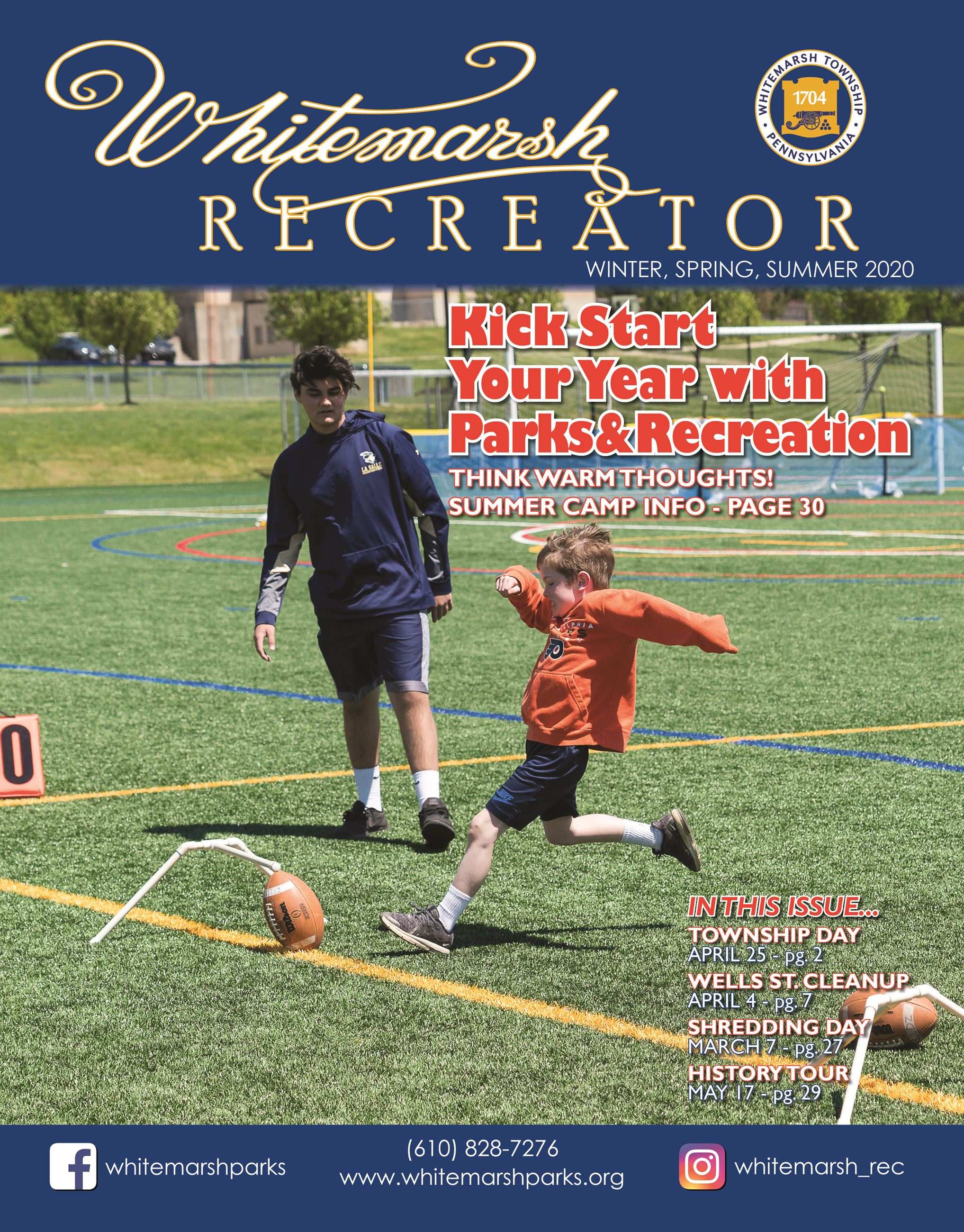 2019 Fall Recreator Cover